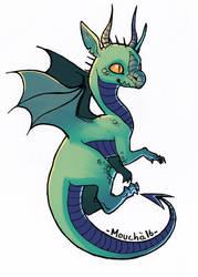 dragon by citron-bleu