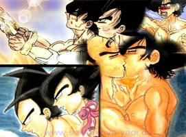 Dragonball Yaoi Collage