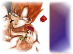 vegeta x Goku wallpaper