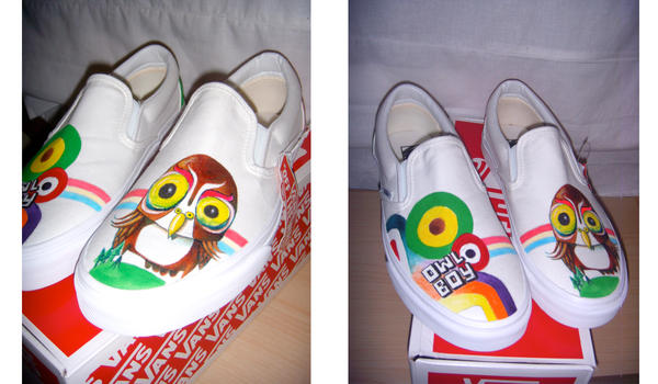 Owl Boy Shoes by startattookid