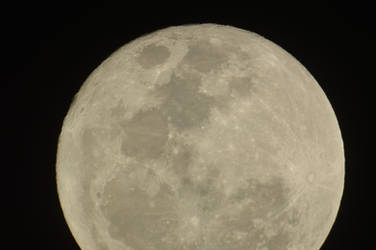 Supermoon seen from Buenos Aires 14/11/2016