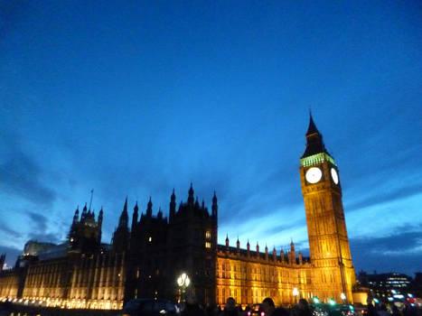 Big Ben in the night - 2016