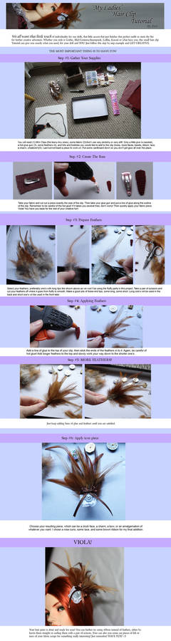 'My Lady' Hair Clip Tutorial