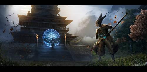 The last samurai by campanoo