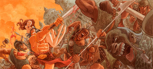 Barbarian's Wrath
