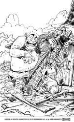 Shrek Comic Issue 4 Cover