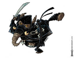 Ninjaphant by RobbVision
