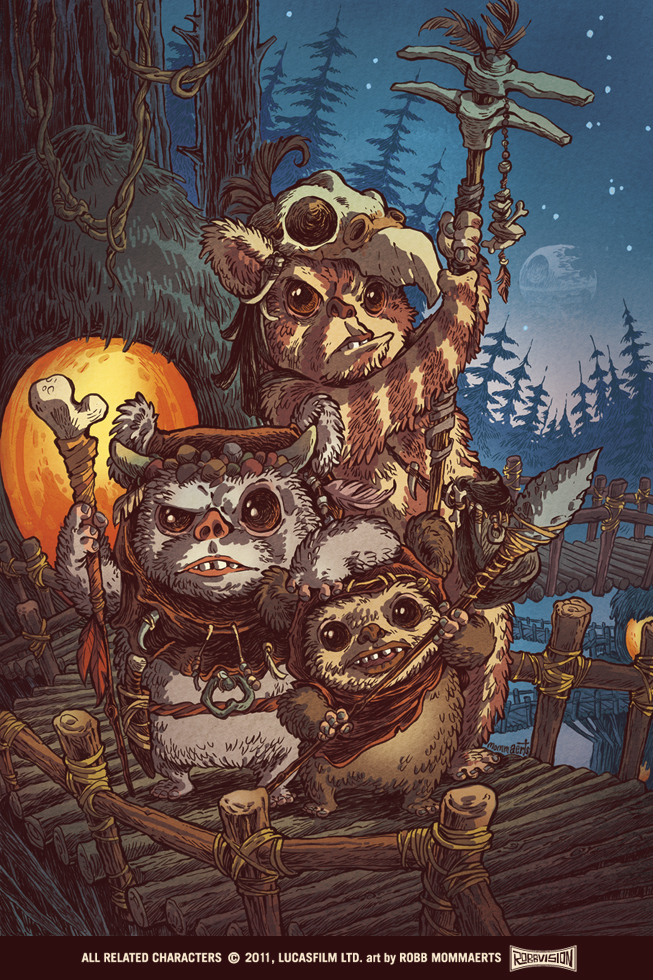 Ewoks by RobbVision on DeviantArt Jabba The Hutt And Oola