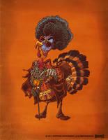 Jive Turkey by RobbVision