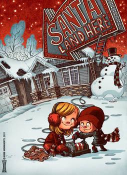 Santa, Land Here?