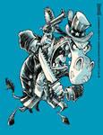 SuperPAC: The Game Donkey Mascot