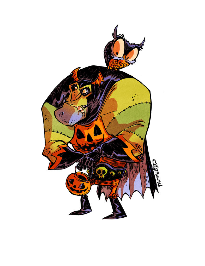 Captain Halloween by RobbVision