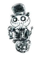Inktober Ghoul 11