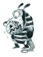 Inktober Monster 13