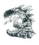Inktober Zilla #16