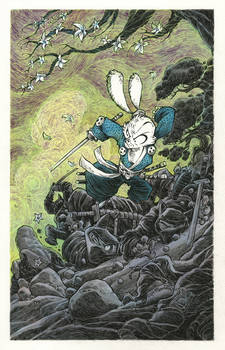 Usagi Yojimbo: Support for Stan and Sharon Sakai
