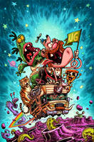 Uncle Grandpa Cover by RobbVision