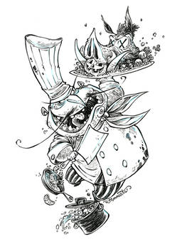 #Inktober-Mad Chef