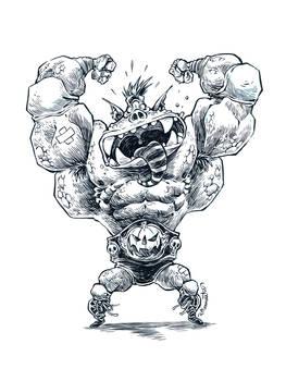 Mighty Monster Grappler