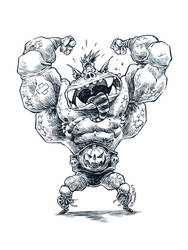 Mighty Monster Grappler by RobbVision