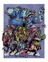 I Hate Zombies: Zombie Horde by RobbVision
