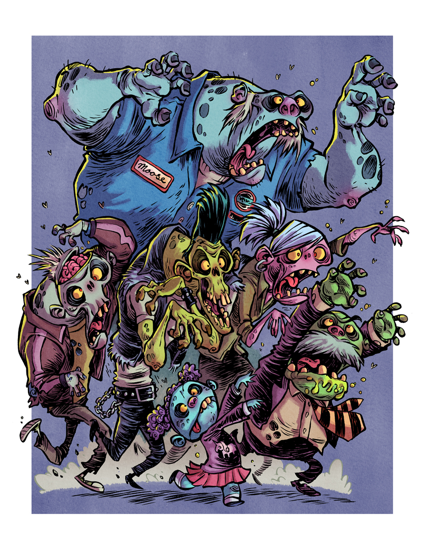 I Hate Zombies: Zombie Horde