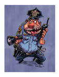 Zombie-Hatin' Cop