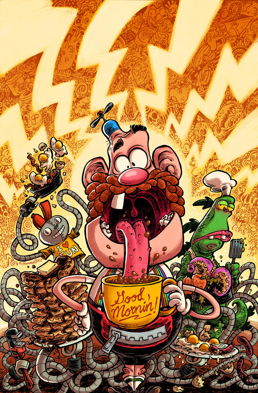 Uncle grandpa issue by robbvision on deviantart