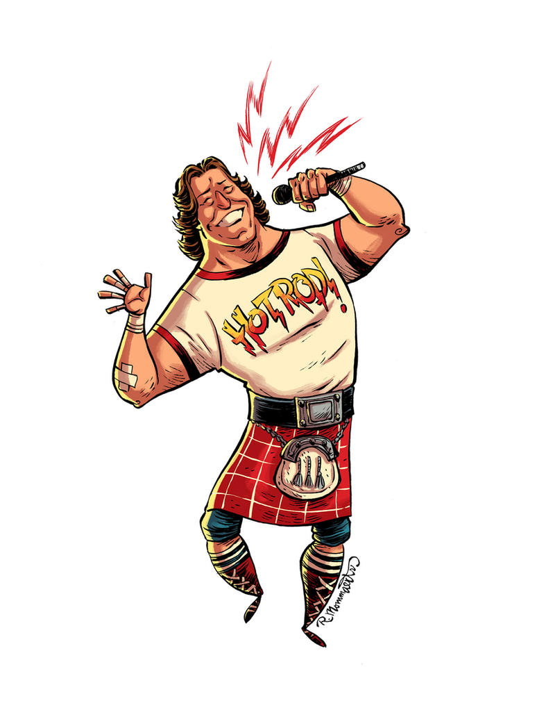 Roddy Piper Tribute by RobbVision