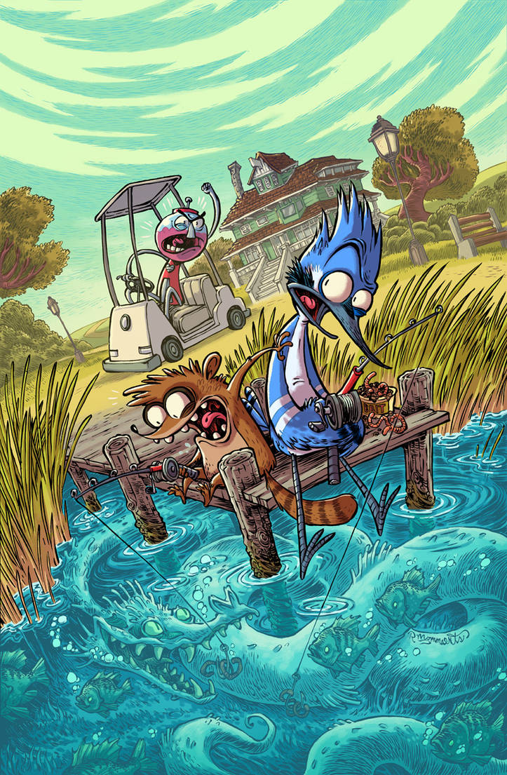 REGULAR SHOW #29 Cover by RobbVision