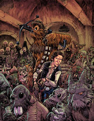 Mos Eisley Encounter by RobbVision