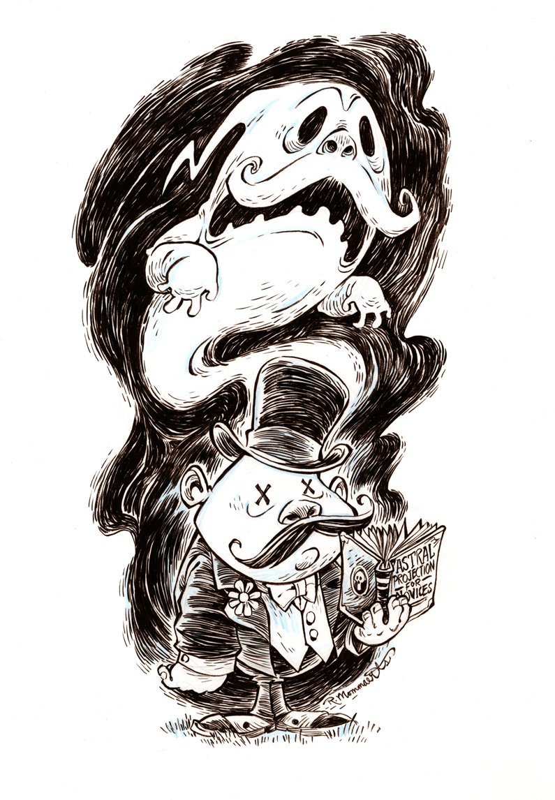 #inktober- October 25th by RobbVision
