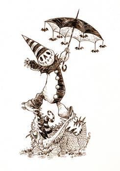 #inktober- October 31st- HAPPY HALLOWEEN!