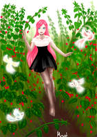 Raspberry fields forever by calleena