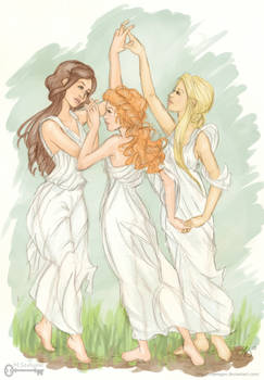 Shadowhunter Chronicles: The Three Graces (Color)