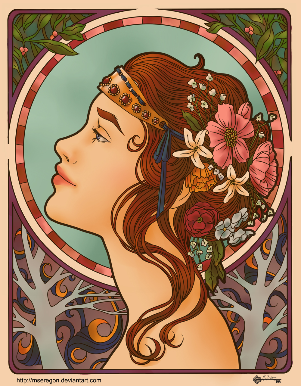 Très Art Nouveau (Attempt #1) by mseregon on DeviantArt BO79