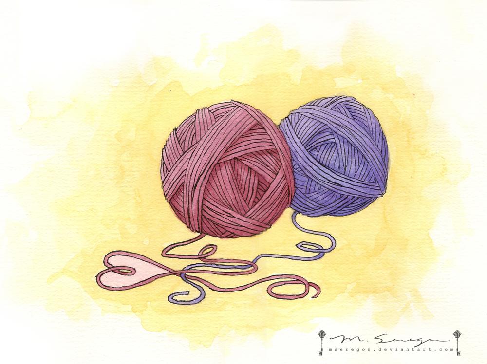Knitting Love by mseregon