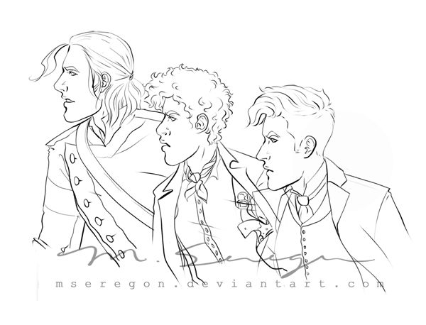 WIP: Six of Crows by mseregon