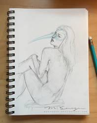 Birdlady Sketch