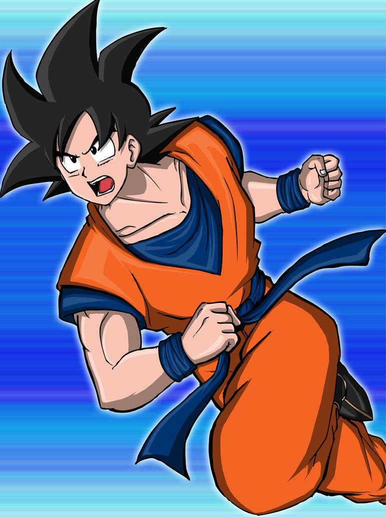 Son-Goku aka Kakaroct by Graxile