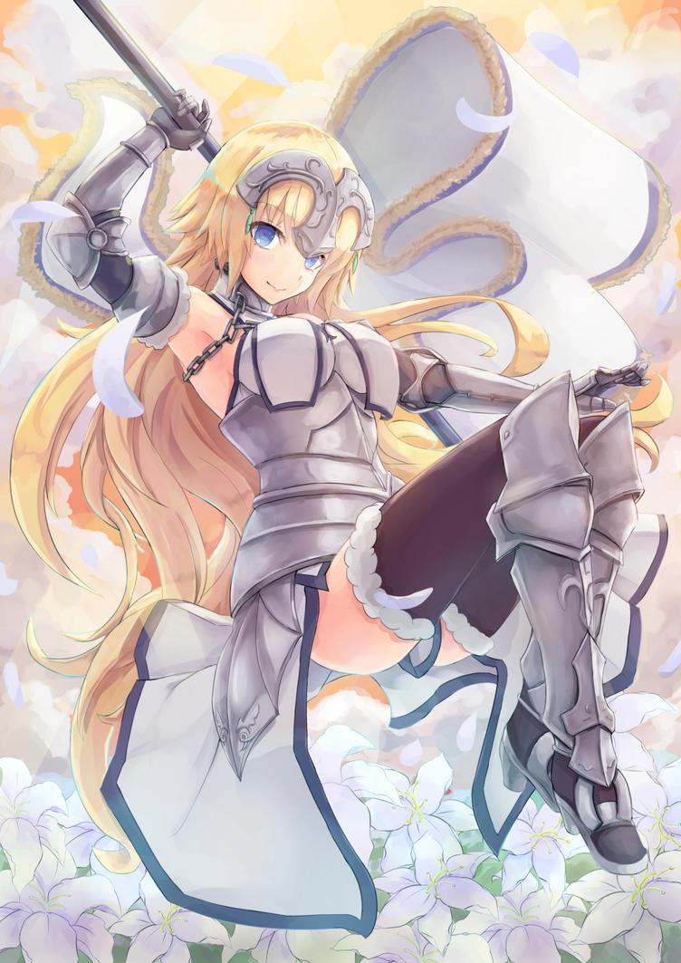 Jeanne d'Arc by birdmk2