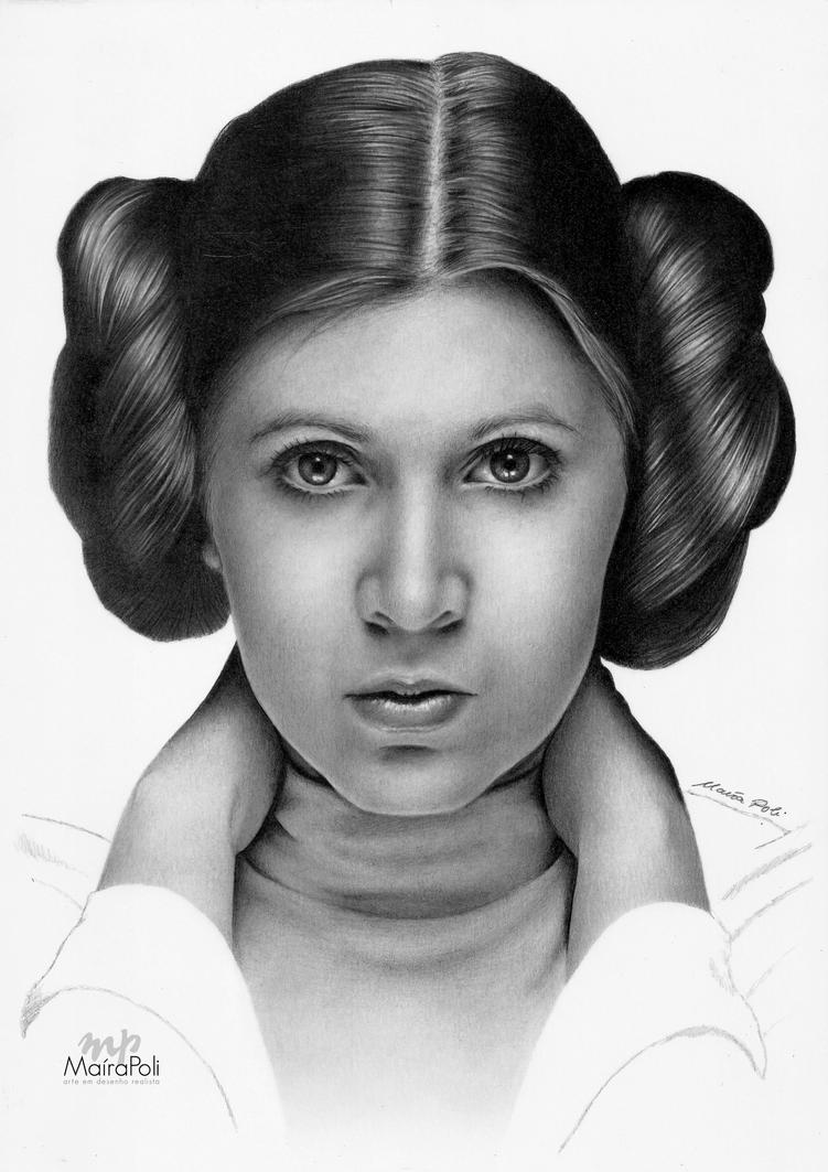 Princess Leia - Star Wars by Mahbopoli