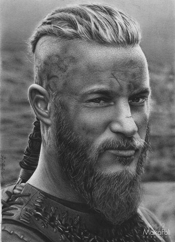 Ragnar Lodbrok - Vikings by Mahbopoli