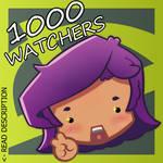 [Unity Minigame]1000 WATCHERS!!! - Read Desc.