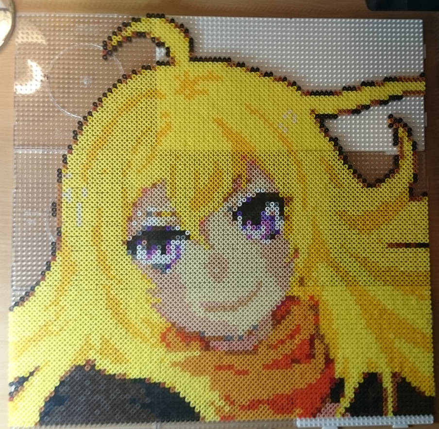 Yang Xiao Long Perler Portrait by Kuchenjaeger on DeviantArt