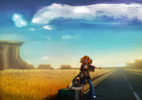 The Long Traveling Road