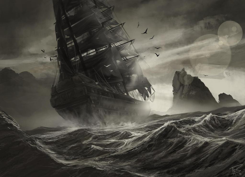 bateau pirate wallpaper - photo #1