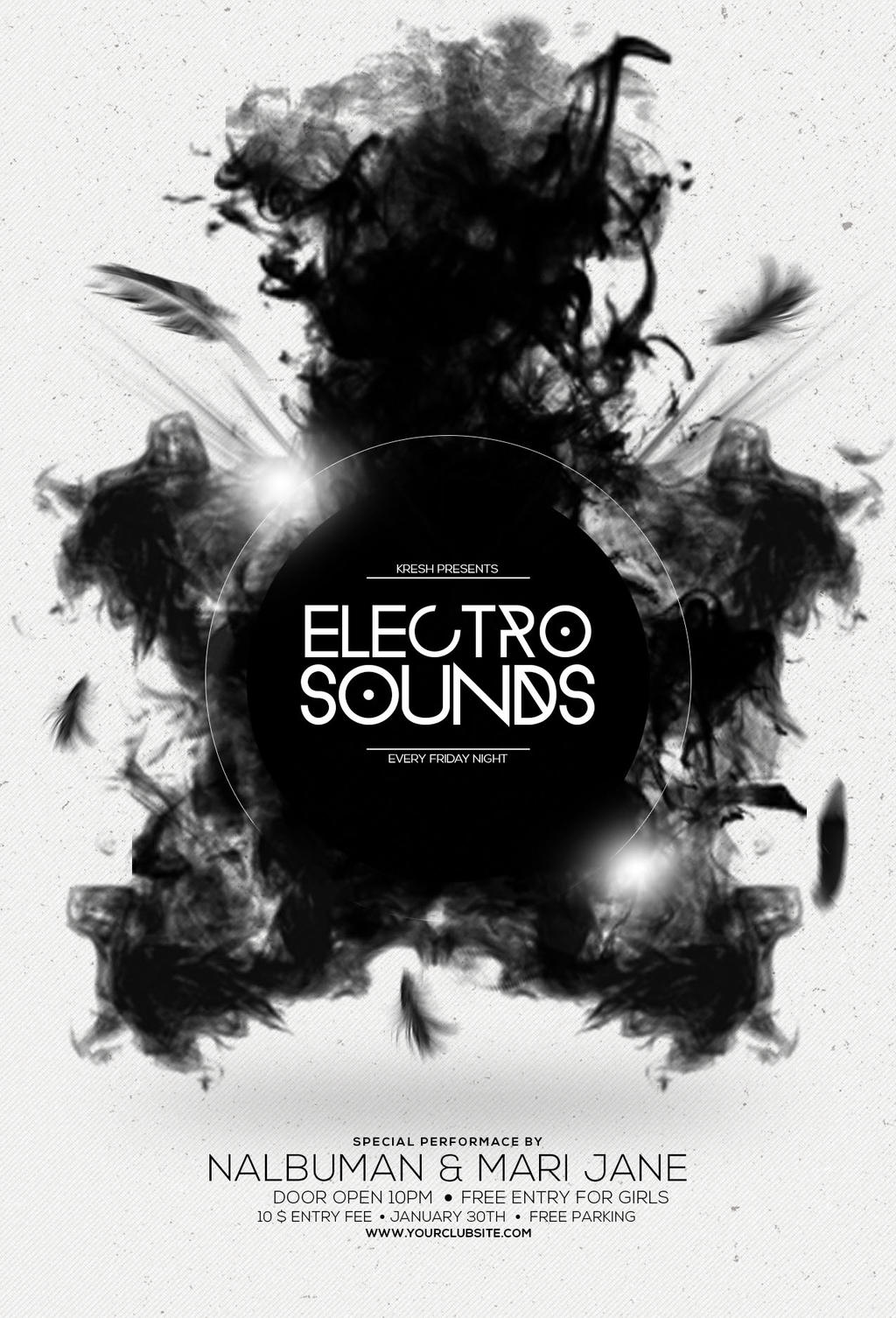 ElectroSoundsFlyer by 1337tspeak on DeviantArt – Electro Flyer
