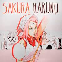 Haruno Sakura by SakuraDz