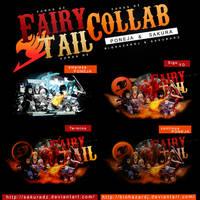 Fairy Tail Collab by SakuraDz